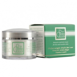 Phyto cream for dry and sensitive skin